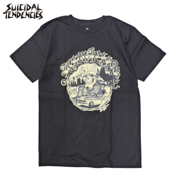 画像1: [SUICIDAL TENDENCIES]-Suicidal T-Shirt Jason Jessee-BLK- (1)