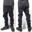画像2: [NEO BLUE]-7601 Black Twill Jogger Pants- (2)