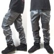 画像6: [NEO BLUE]-MC-8532 RUSTIC METAL GRAY MOTO JEANS- (6)