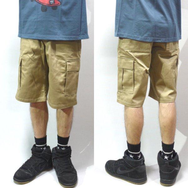 画像1: [NEO BLUE]-6803 Cargo Shorts-KHAKI- (1)