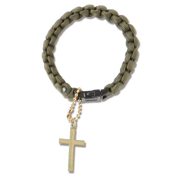 画像1: [ANIMALIA]-PARACORD Bracelet-OLIVE- (1)