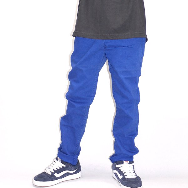 画像1: [NEO BLUE]-207 Royal Blue Skinny Jeans- (1)
