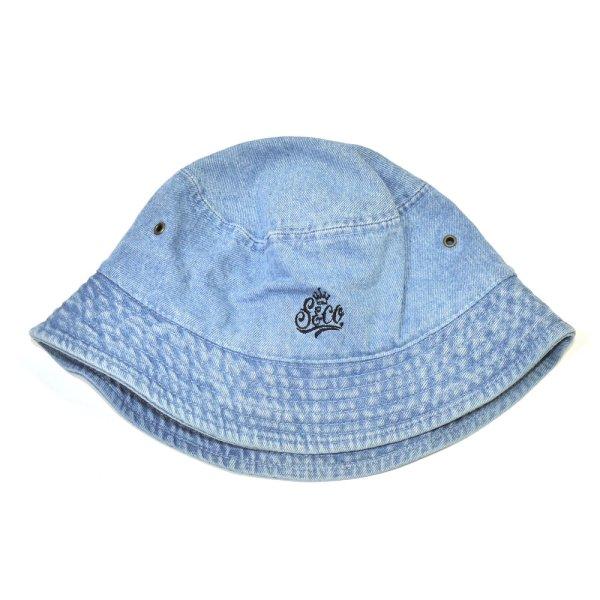 画像1: [SLIP&Co.]-Backet Hat-Denim LtBlue- (1)