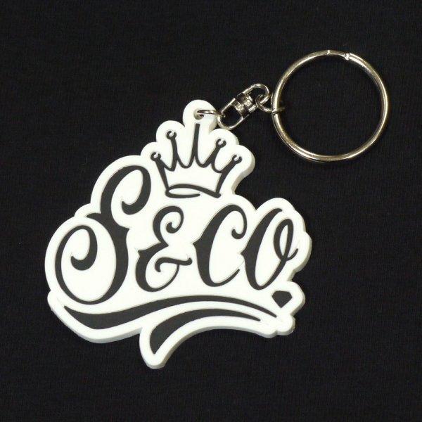 画像1: [SLIP&Co.]-Key Ring-White- (1)