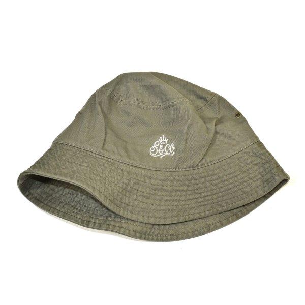 画像1: [SLIP&Co.]-Backet Hat-Khaki- (1)