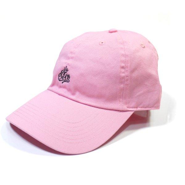 画像1: [SLIP&Co.]-6 Pannel Cap-Lt Pink- (1)