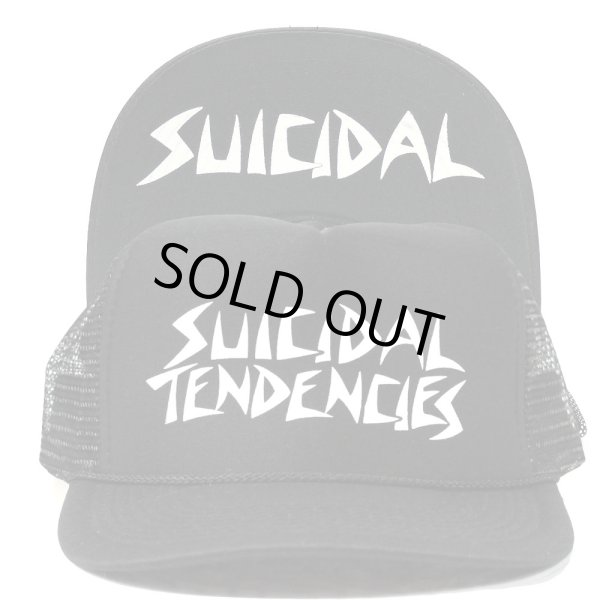 画像1: [SUICIDAL TENDENCIES]-Mesh Cap-BLACK/WHITE- (1)