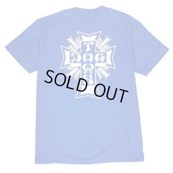 画像1: [DOGTOWN]-Cross Logo S/S Tee-Royal Blue- (1)