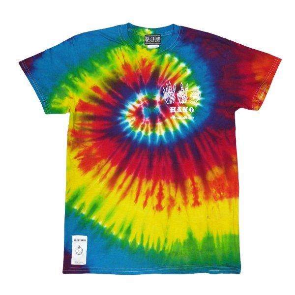 画像1: [DxAxM x HANG]-TIE DYE Tee-Rainbow- (1)