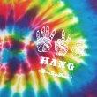 画像3: [DxAxM x HANG]-TIE DYE Tee-Rainbow- (3)