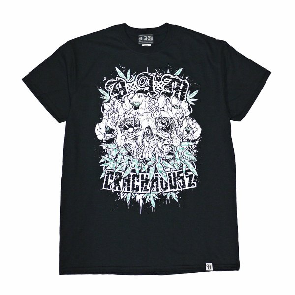 画像1: [DxAxM X CRACK HOUSE]-COLLABORATiON Tee- (1)