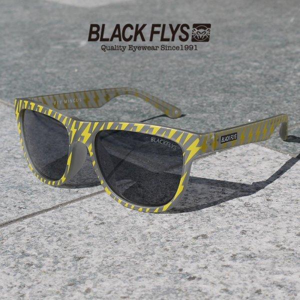 画像1: -50%OFF-[BLACK FLYS]-FLY MINGUS-FROST GREY YELLOW THUNDER/SMOKE- (1)