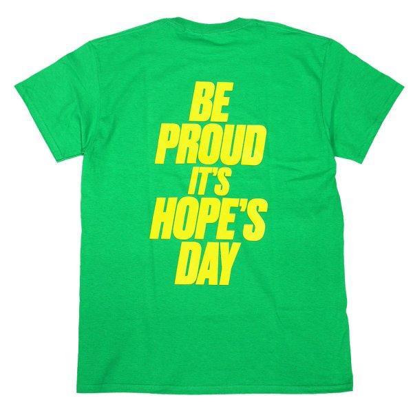 画像1: [SLIP&Co.]-IT'S HOPE'S DAY TEE-GREEN- (1)