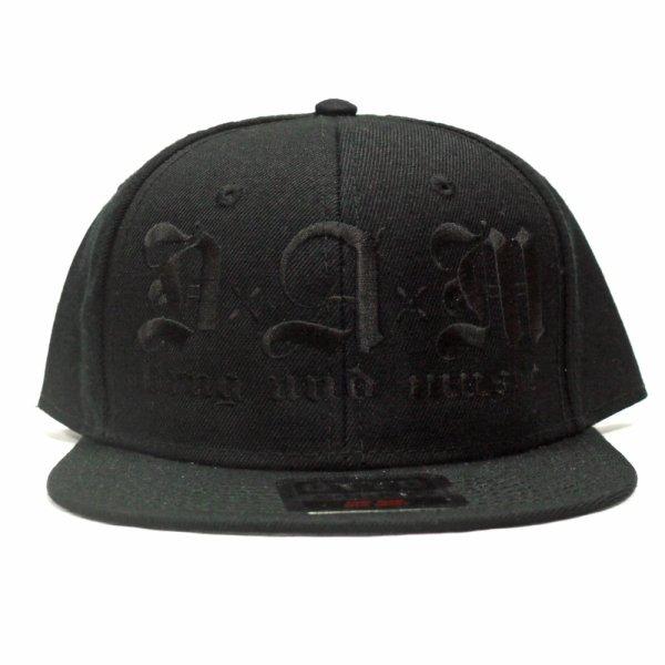 画像1: [DxAxM]-KLASSiC SNAPBACK CAP-BKxBKxBK- (1)