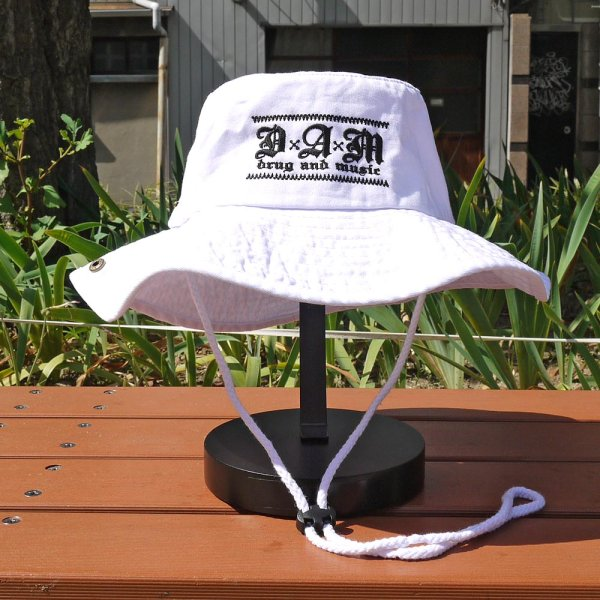 画像1: [DxAxM]-KLASSiC SAFARI HAT-WHITE- (1)