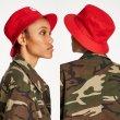 画像3: [BRIXTON]-STOWELL BUCKET HAT-RED- (3)