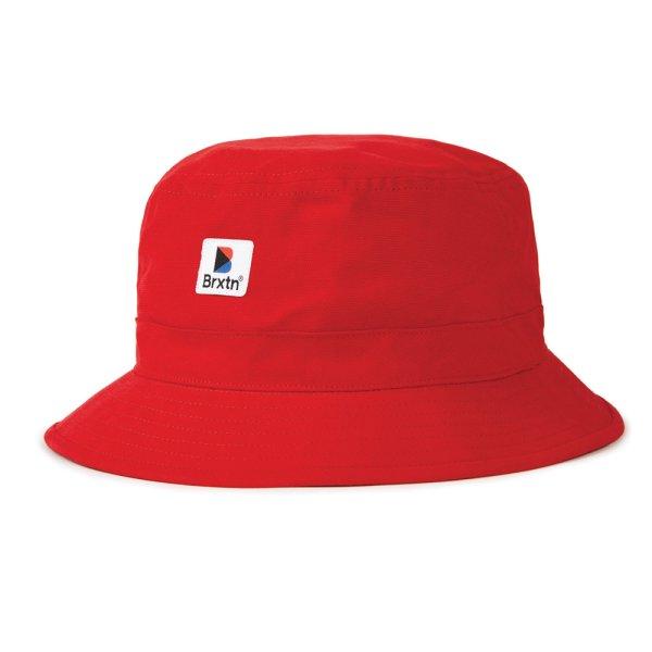 画像1: [BRIXTON]-STOWELL BUCKET HAT-RED- (1)