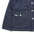 画像4: [seedleSs]-SD DENIM COVERALL JACKET-IT INDIGO- (4)