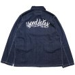 画像3: [seedleSs]-SD DENIM COVERALL JACKET-IT INDIGO- (3)