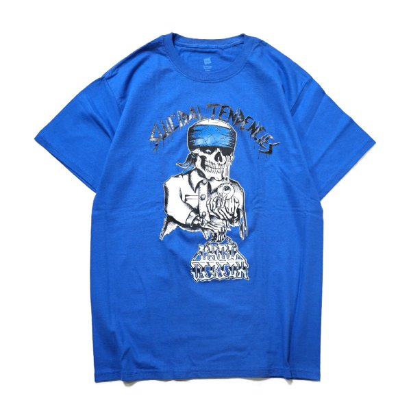 画像1: [SUICIDAL TENDENCIES]-ST Cyco Vision-BLUE- (1)