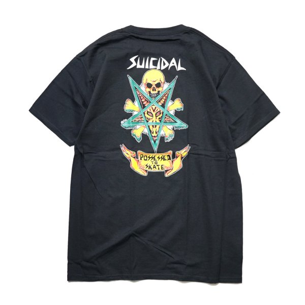 画像1: [SUICIDAL TENDENCIES]-TS 37 Possessed to skate-BLACK- (1)