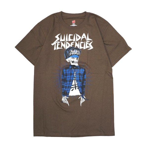 画像1: [SUICIDAL TENDENCIES]-TS Vato Tee-BROWN- (1)