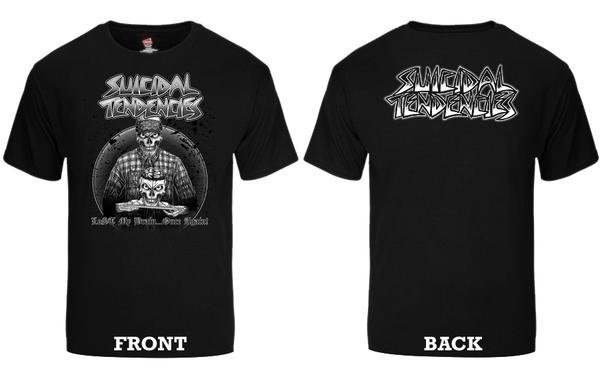 画像1: [SUICIDAL TENDENCIES]-TS 95 LOST MY BRAIN ONCE AGAIN Tee- (1)