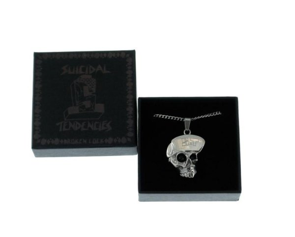 画像1: [SUICIDAL TENDENCIES]-Stainless Steel CYCO SKULL Chain Necklace-LIMITED-  (1)