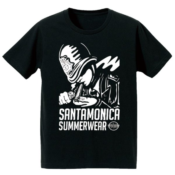 画像1: [SANTAMONICA SUMMER WEAR]-Police need xxxx S/S Tee-BLACK- (1)