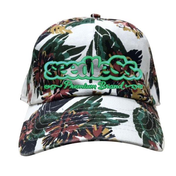 画像1: [seedleSs]-sd Hawaiian style low cap-WHITE- (1)