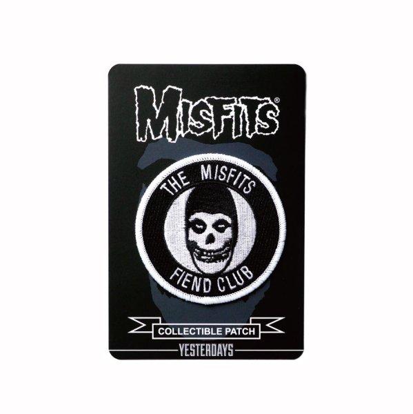 画像1: [YESTERDAYS]-Misfits Fiend Club Patch- (1)