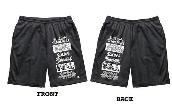 画像1: [SUICIDAL TENDENCIES]-The Legacy Athletic Shorts- (1)