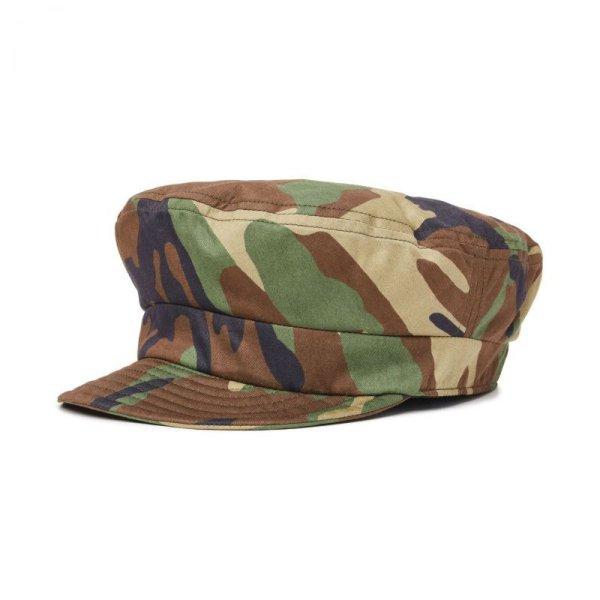 画像1: [BRIXTON]-FIDDLER UNSTRUCTURED CAP-WOODLAND CAMO- (1)