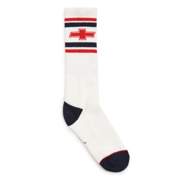画像1: [BRIXTON]-LIKE A ROCK SOCK-EL CAMINO WHITE-CHEVROLET- (1)