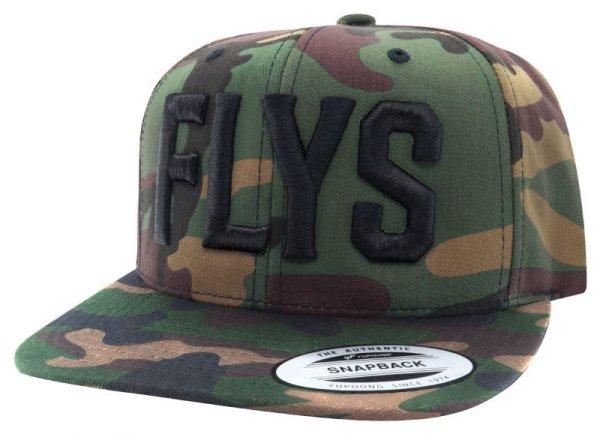 画像1: [BLACK FLYS]-FLYS Snapback Cap-CAMO- (1)