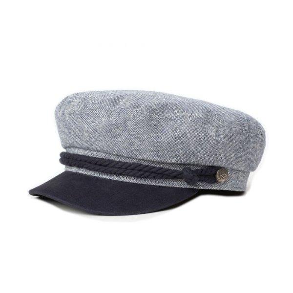 画像1: [BRIXTON]-FIDDLER CAP-Navy/Off White- (1)