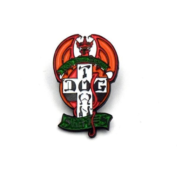 画像1: [DOGTOWN]-Enamel Pin Red Dog- (1)