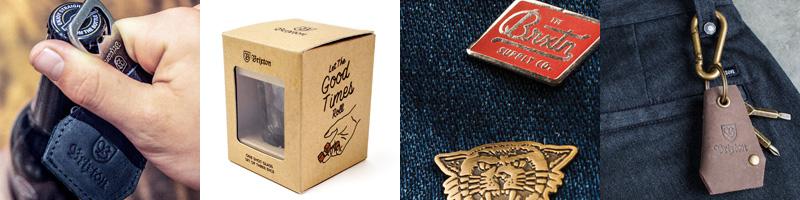 ブリクストン 雑貨 キーホルダー カバン リュック バッグ 手袋 ピンズ 通販 バックパック