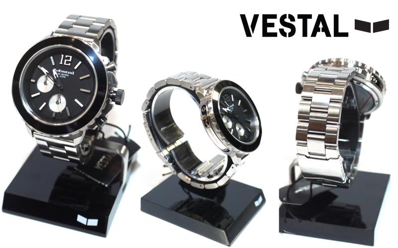ベスタル 腕時計 防水 YACHT  METAL  YATCM02  通販 店舗