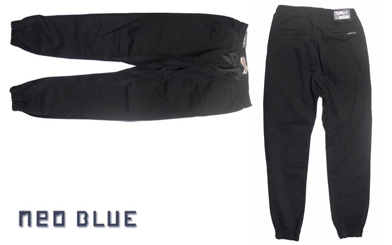 NEO BLUE jogger pants ジョガーパンツ サルエル ブラック 通販