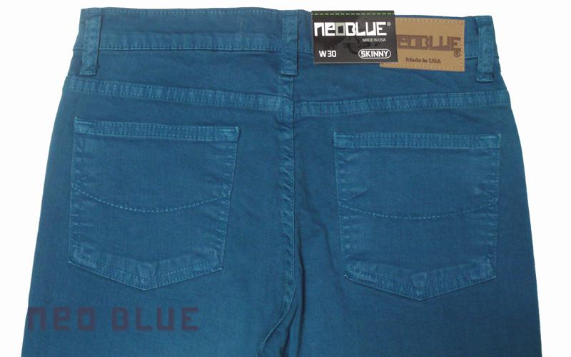 NEO BLUE jogger pants スキニー SKINNY   ブルー ネイビー 通販