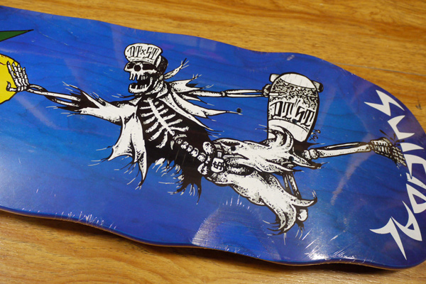 SUICIDAL TENDENCIES MIKE VALLELY マイクバレリー スケートボード クルーザー デッキ スケボー スイサイダル SUICIDAL 通販 POOL BLUE