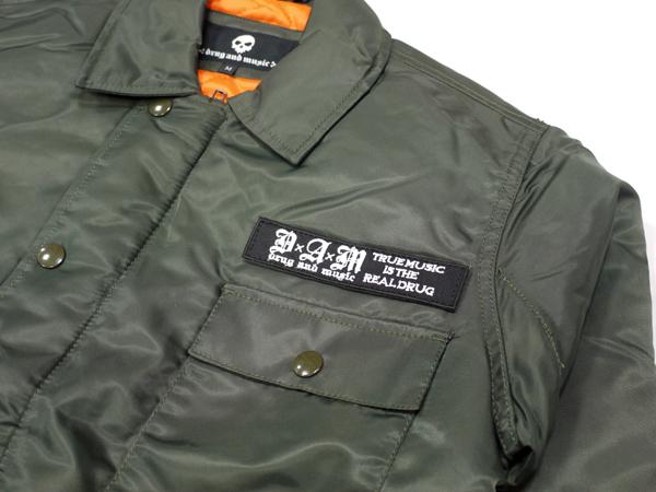 DxAxM A-2 Jacket ジャケット 上着 アウター 通販 アーミー ミリタリー グリーン
