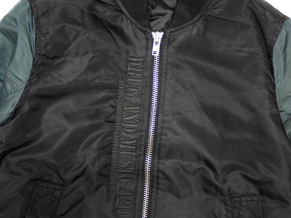 DxAxM MA-1 Jacket ジャケット 上着 アウター 通販 ブラック