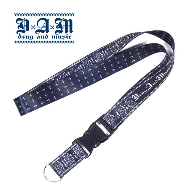 DxAxM ネックストラップ neck strap ダム ドラッグアンドミュージック 通販