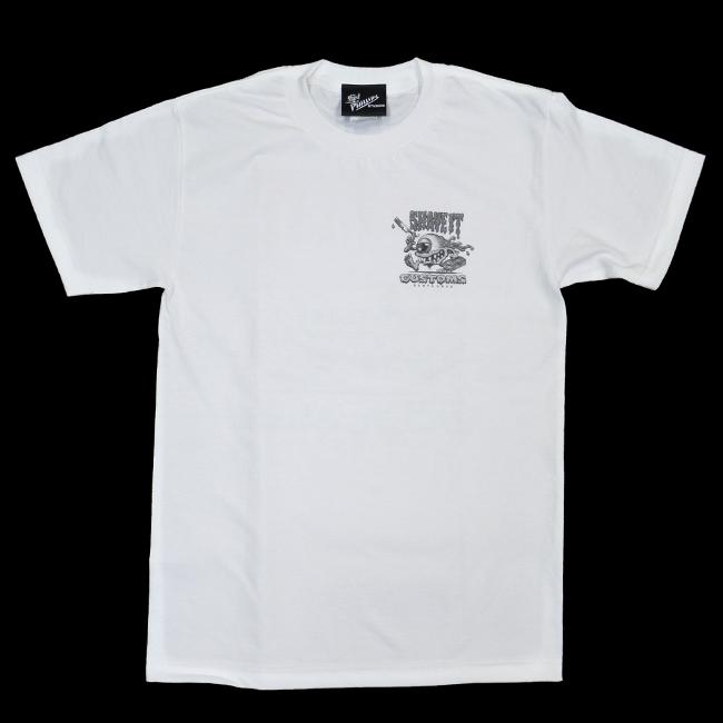 jim phillips ジムフィリップス Tシャツ shave it customs  santa cruz 白 ホワイト 通販