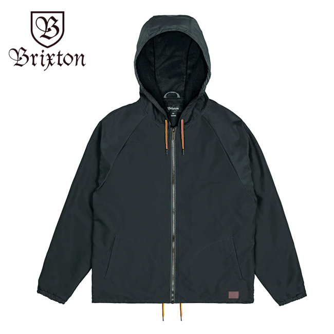 brixton ブリクストン ジャケット アウター ウインドブレーカー 通販 ブランド 取扱店 CLAXTON JACKET ブラック