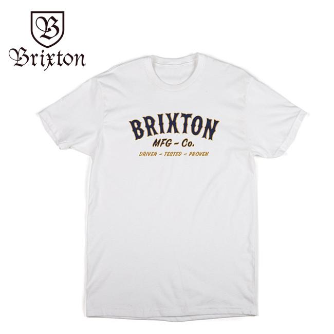 brixton ブリクストン Tシャツ tee 通販 ブランド 取扱店 HAROLDl  白 ホワイト