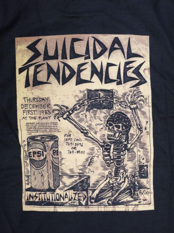DOGTOWN SUICIDAL スイサイダル Tシャツ Punk Flye 通販 ブラック スケートブランド オールドスクール ファッション
