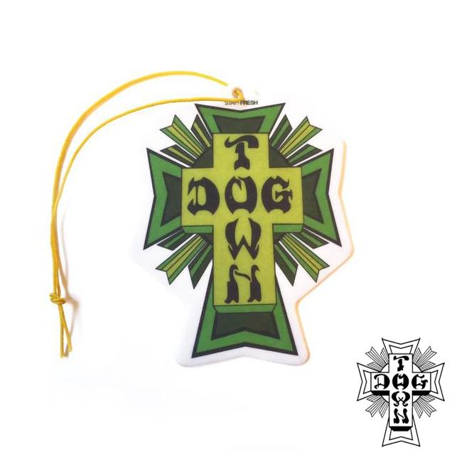 DOGTOWN ドッグタウン エアーフレッシュナー クロスロゴ STAY FRESH SCENTS 通販
